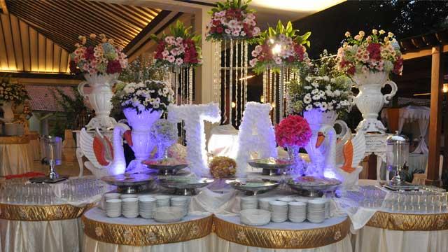 Dekorasi Dessert Wedding di Gedung LCBI