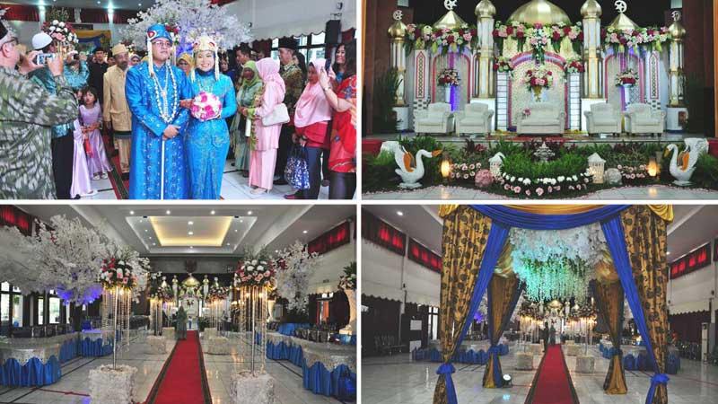 Wedding di Sasana Wira Sakti