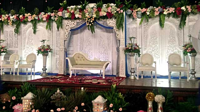 Wedding di Gedung Menza