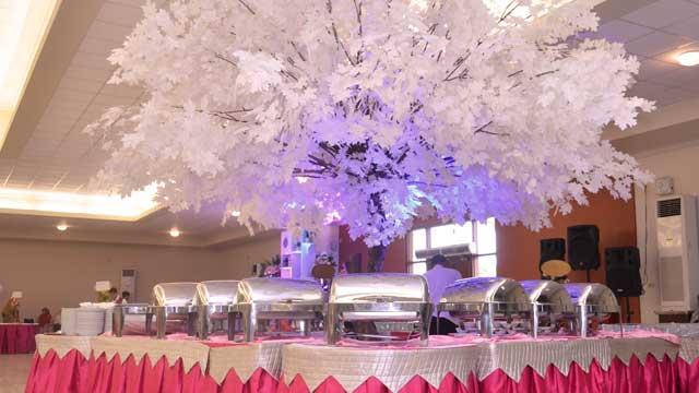 Dekorasi Buffet Wedding di Hotel 678