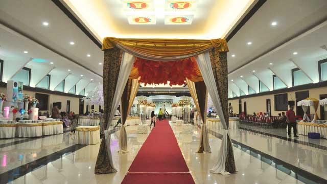 Dekorasi Gazebo Wedding di Graha Zeni