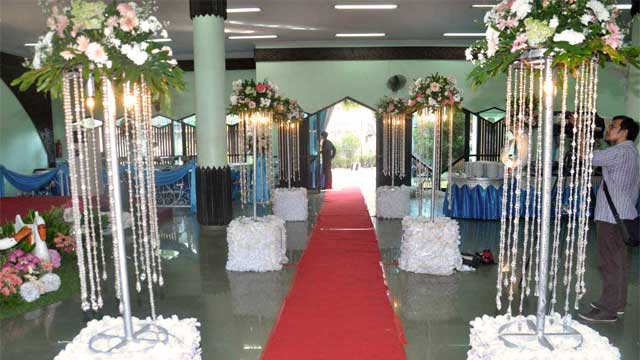 Wedding di Masjid Babussalam
