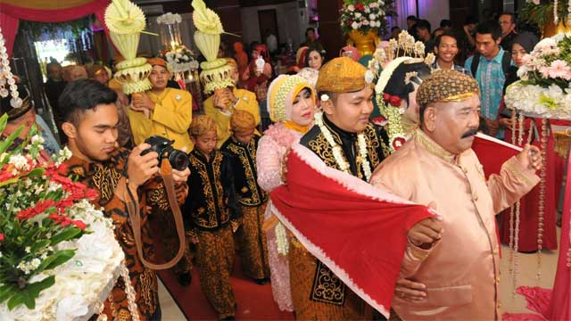Event Wedding di GOR Tanjung Duren