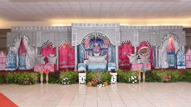 Dekorasi Pelaminan Wedding di Hotel 678