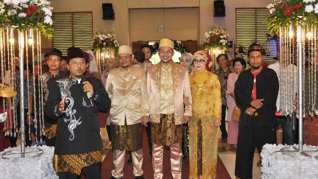 Wedding di GOR Sunter