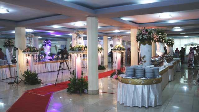 Dekorasi Wedding di Masjid Baiturrahman