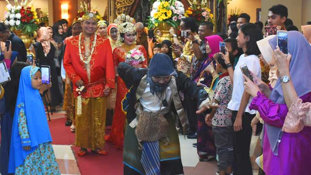 Event Wedding di Gedung PU
