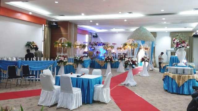 Dekorasi Gazebo Wedding di Kimia Farma Learning Center