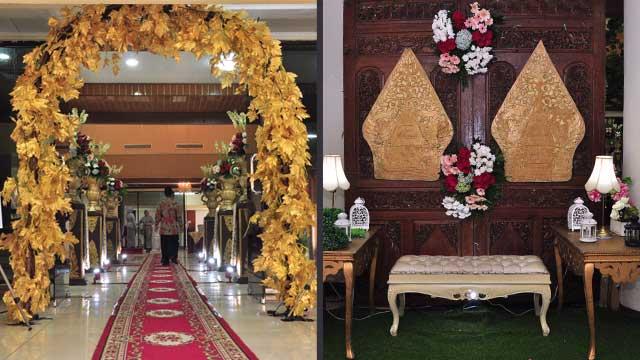 Dekorasi Wedding di Gedung Depsos Bekasi