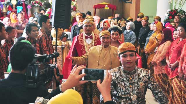 Event Wedding di Gedung Depsos Bekasi