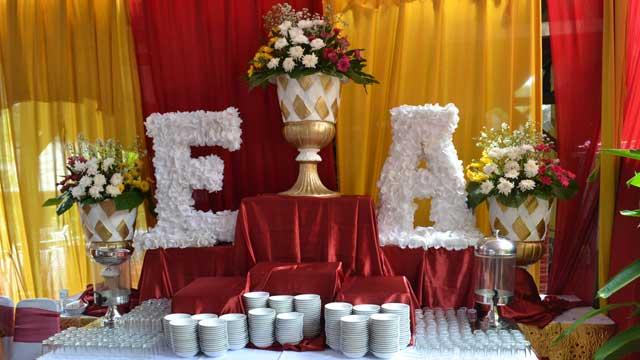 Dekorasi Dessert Wedding di Asrama Polisi Otista
