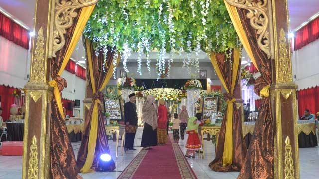 Wedding di Gedung Sasana Wira Sakti