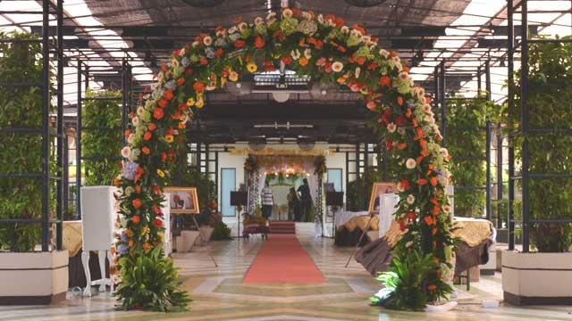 Wedding di Puspa Pesona Taman Anggrek