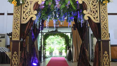 Wedding di Aula Sudirman Makodam