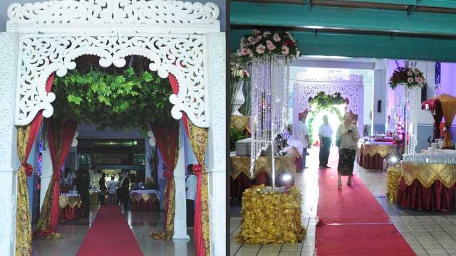 Wedding di Masjid Baitur Rahmah