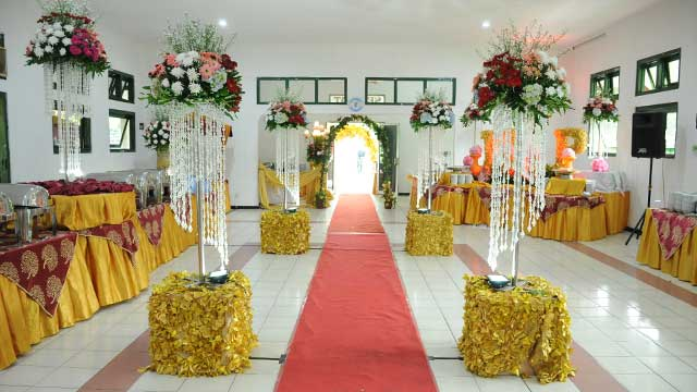 Wedding di Aula Rangkok