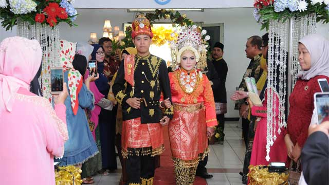 Wedding di Aula Rangkok