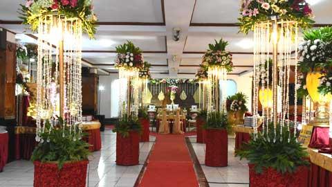 Wedding di Aula Uhamka Kebayoran