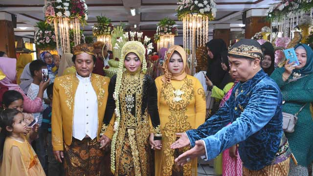 Wedding di SMP Muhammadiyah 9 Kebayoran