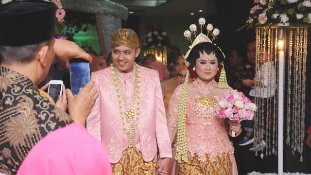 Wedding di Masjid Assahara Kembangan