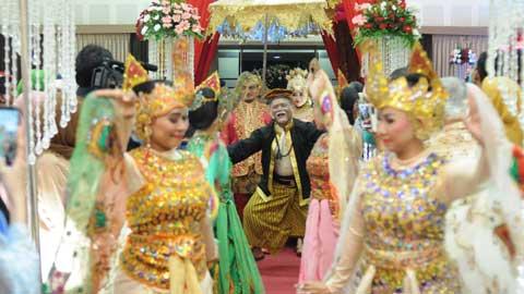 Wedding di Aula Dharmagati Ksatria Jaya