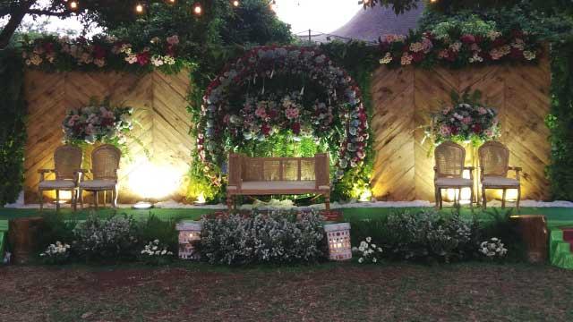 Wedding di Museum Perangko TMII