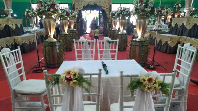 Wedding di GOR Cakung