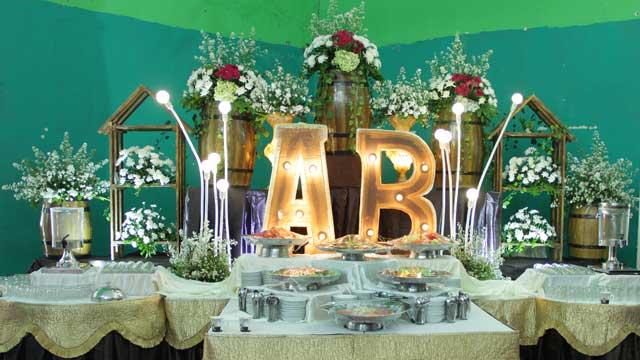 Dekorasi Dessert Wedding