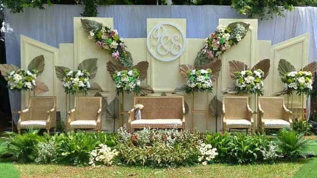 Dekorasi Pelaminan Wedding di Wisma Subud Fatmawati