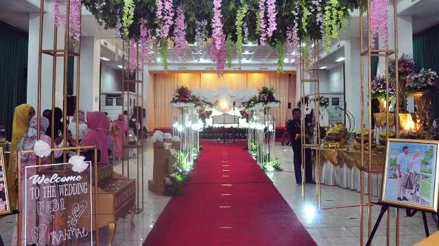 Dekorasi Wedding di Masjid Salman Al-Farisi