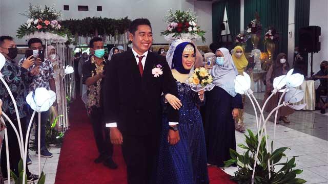 Wedding di Masjid Salman Al-Farisi Kayu Putih