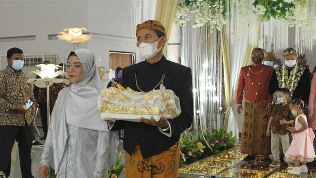 Wedding di Gedung Serbaguna Antarikshe