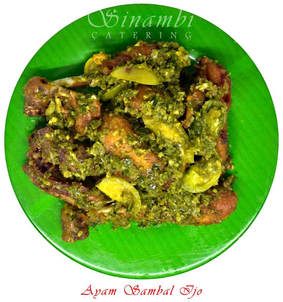 Ayam Sambal Ijo - Sinambi Kuliner
