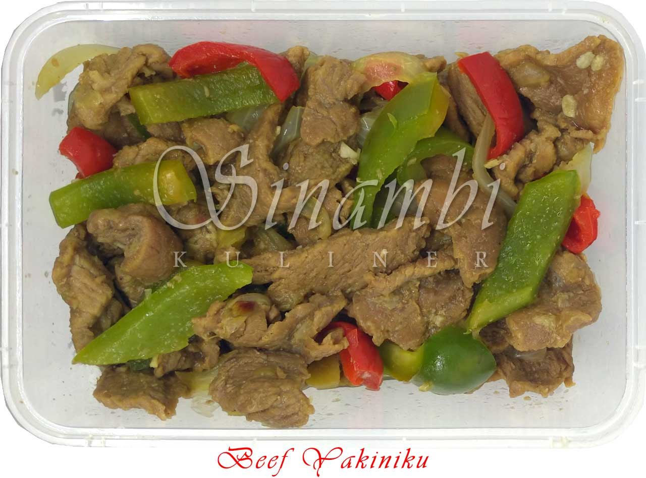 Beef Yakiniku - Sinambi Kuliner
