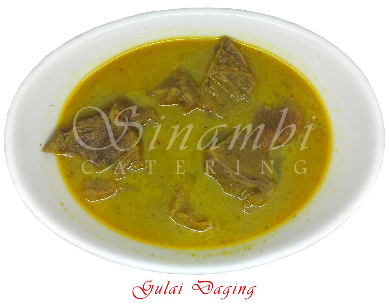 Gulai Daging - Catering Harian