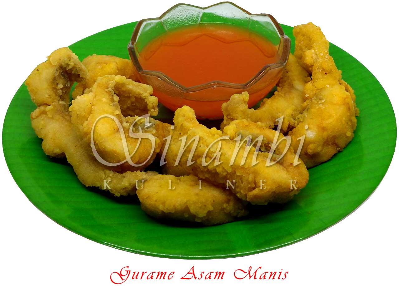 Gurame Asam Manis - Sinambi Kuliner