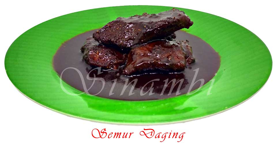 Semur Daging - Catering Harian
