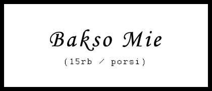 Bakso Mie