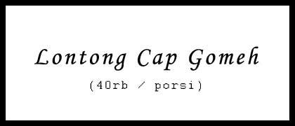 Lontong Cap Go Meh