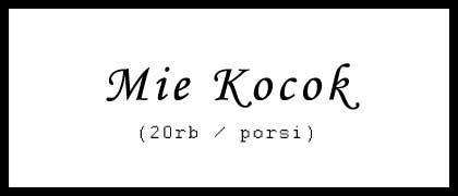 Mie Kocok