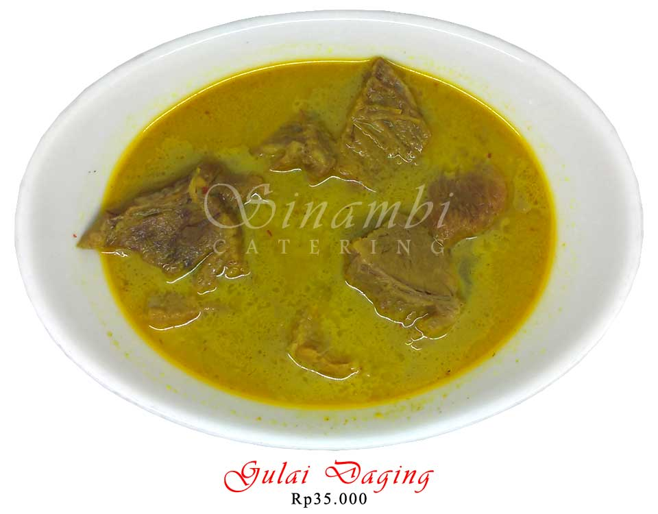 Catering Harian - Gulai Daging