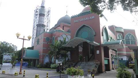 Gedung Pernikahan Masjid Baitussalam