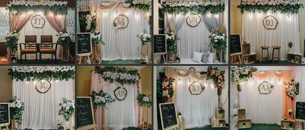 Pilihan Backdrop Akad