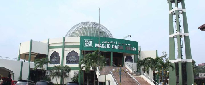 Wedding di Masjid Darul Hikam