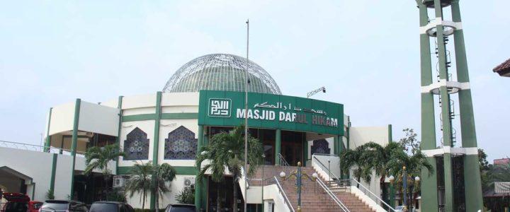 Wedding di Masjid Darul Hikam
