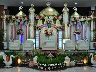 Weding di Gedung Sasana Wira Sakti