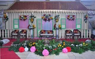 Wedding di Masjid Darul Hikmah