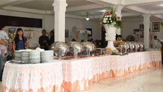 Wedding di Aula Gereja Santa Anna