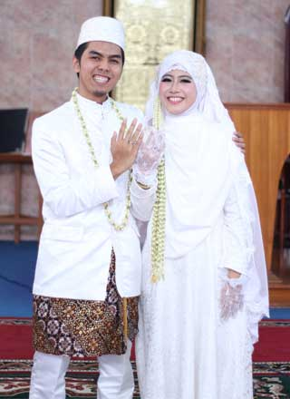 Wedding di Masjid Baiturrahman