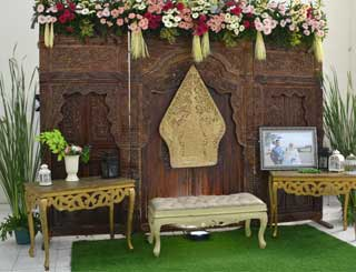 Wedding di Gedung Ardhyaloka Halim